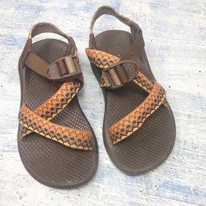 Chaco Women's Multi Strap Brown Sandals Size 5